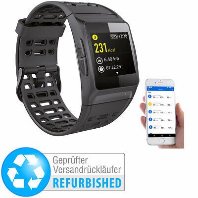 GPS-Sportuhr mit Bluetooth, Fitness, Puls, IP68 (Versandrückläufer)