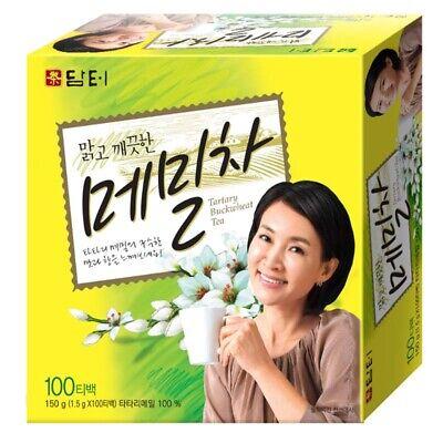 Korean herbal Healthy Tartary Buckwheat Tea 100 Tea bags (1.5g x 100 bags)