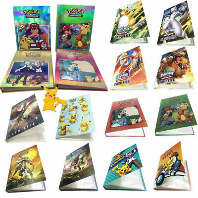 Pokemon Karten Album Sammelalbum 240 Karten 4 Pocket Portfolio Geschenk DE