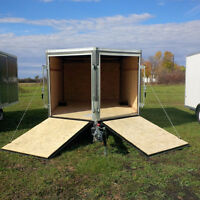 ENCLOSED TRAILERS FOR SALE !