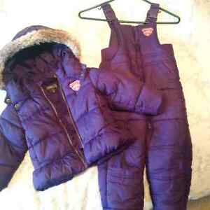 Toddler Girls Size 2 Roots Snowsuit