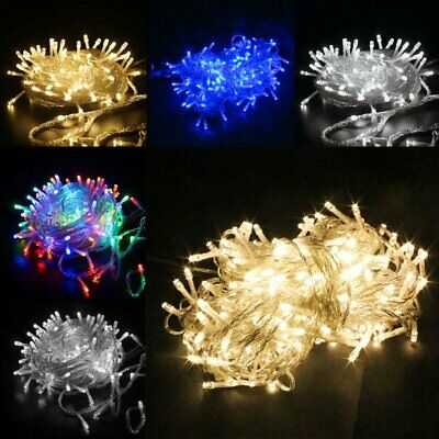 100-1000LED Christmas Fairy String Lights Indoor Outdoor Xmas Party Decor Light](Indoor Christmas Decorations)