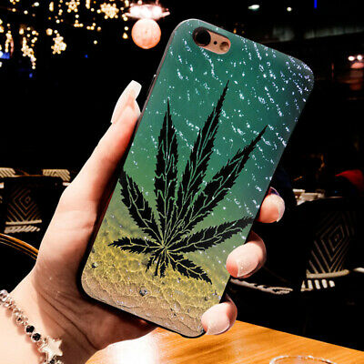 Weed Art Apple Silicone Cover Case For All Iphone Models High Quality Variety - Art Apple Iphone