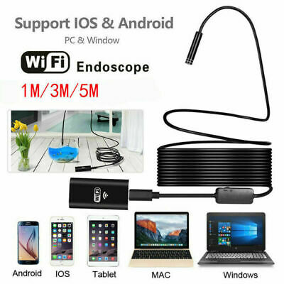 Us For Iphone 11 Pro Max 8 Led Wifi Borescope Endoscope Snake Inspection Camera