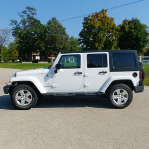 2012 Jeep Wrangler Sahara * 4x4 * Dual Top * Remote Start