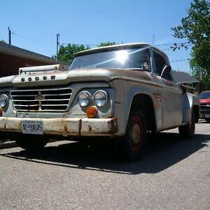 1965 D100 perfect patina