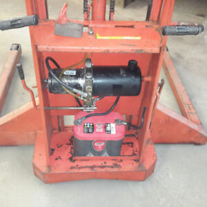 1500lbs electric fork lift
