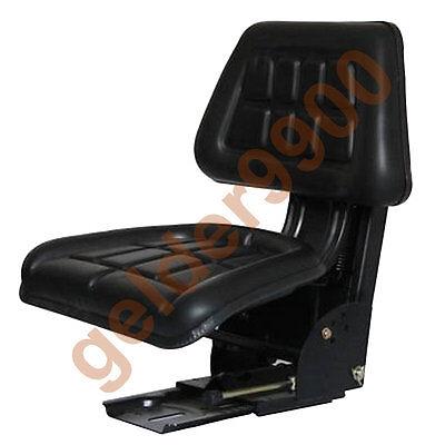 Universal Suspension Seat For Tractors - Adjustable Suspension Stiffness