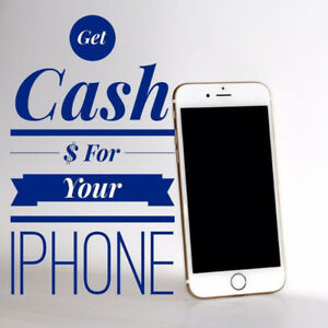 Buying new and used cell phones, paying CASH