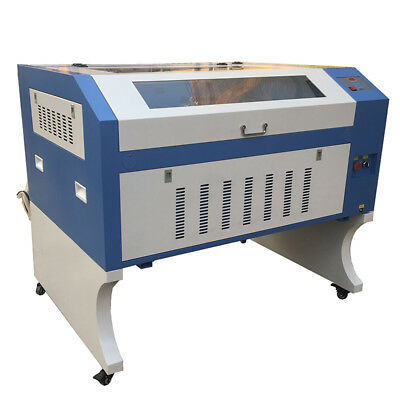 100w Laser Engraver Cutter 6090 Free Coreldraw Software Electrical Lift Table