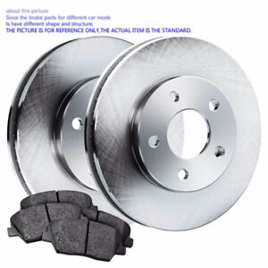 Front OE Replacement Brake Rotors+Brake Pads 2001-2002 Acura Mdx
