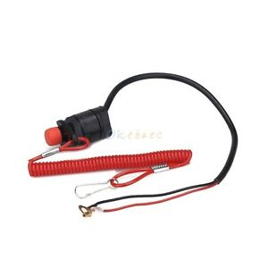 KILL STOP SWITCH & TETHER LANYARD KIT