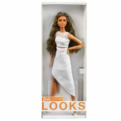 NRFB Barbie Signature Barbie Looks Doll #1 GTD89. In Hand, ready to ship