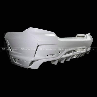 For Subaru GVB Ultimate VS-Style FRP Unpainted Fiber Glass Rear Bumper Body Kit
