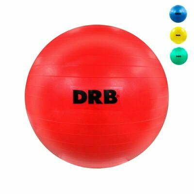 DRB Anti-Burst Balance Ball for Yoga Stability Gym Workout Training Size 65 cm
