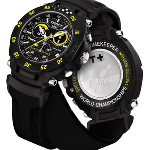 tissot t-race Gp edition black and yellow limited