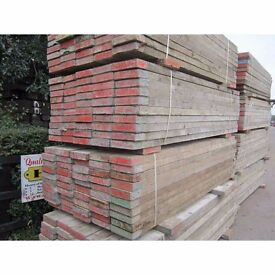 8ft scaffolding planks ideal for gardening or furniture