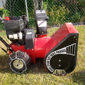 21 inch 5hp Gran Prix dual stage snowblower