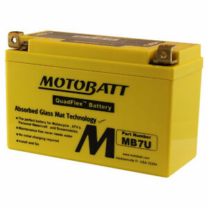 New MOTOBATT BATTERY for JIALING JH 125 B Roadstar,JH 125 D Flee