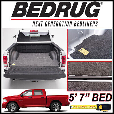 """BEDRUG Classic Truck Bed Mat fits 2009-2018 Dodge Ram 1500 WITH 5'7"""" BED"""