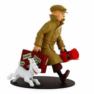 TINTIN AND SNOWY ILS ARRIVENT HOMECOMING RESIN STATUE NEW