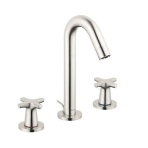 Hansgrohe 71323821 Logis Classic Widespread Faucet Brushed Nicke