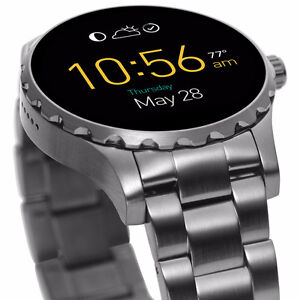 Smartwatch: Fossil Q Gen. 2 (45mm) Stainless Steel - Never used