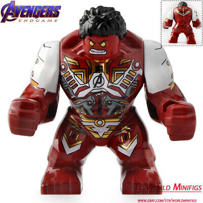 Red Suit For Kids (Large Hulk (Red Suit) - Avengers End Game Lego Moc Minifigure For)
