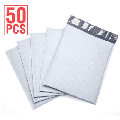 Durable Padded Envelopes 6x10 Bubble Wrap Mailers Poly Dvds Cds White Jewelry 0