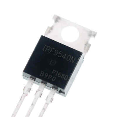 5pcs Irf9540n 23a 100v P-channel Field Effect Transistor To-220 New