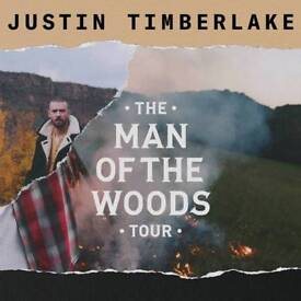 JUSTIN TIMBERLAKE MANCHESTER ARENA TICKETS AVAILABLE