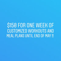 Feel Great With Customized Workout and Meal Plans