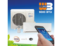 EASY-FIT KFR23IW/XCM1 Air Conditioning Kit (Split System) - 9000 Btu/h With Remote & Built-in WiFi