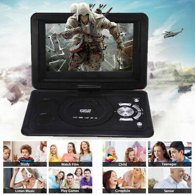 13.9 Zoll HD Tragbarer DVD Player Reise 270° Drehbar DVD Spieler USB AV IN Out ()