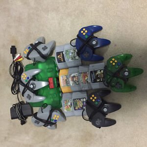 Limited Addition Donkey Kong Green N64 With Games! Kitchener / Waterloo Kitchener Area image 1