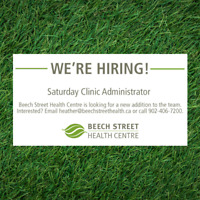 Saturday Clinic Administrator