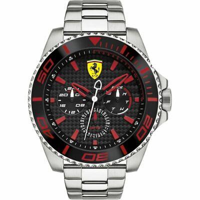 Scuderia Ferrari Men's XX Kers 0830311 Stainless Steel Watch Brand New