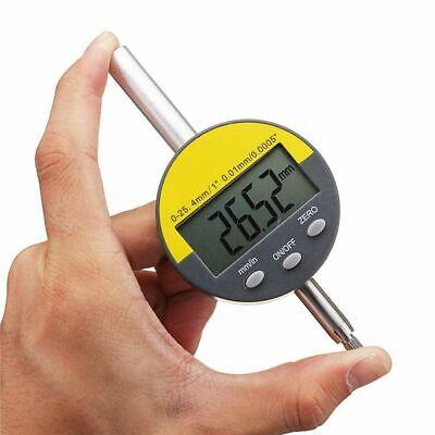 Digital Dial Test Indicators Gauge Precision Tool Dust-proof Waterproof 0-25.4mm