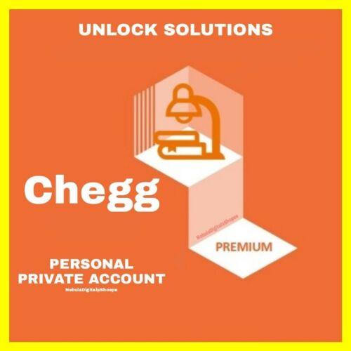 Chegg 5 + 1 FREE Unlocks + for 0.98 dollars (0-30 minutes)