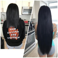 HAIR KANDY EXTENSIONS/ hot fusions and tape SAME DAY mobile