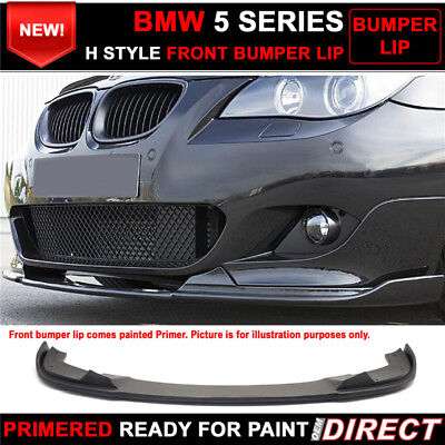 For 04-10 BMW E60 5 Series M Sport H Style Front Bumper Lip - PU for sale  Rowland Heights