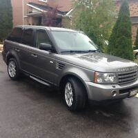 2009 Land Rover Range Rover Sport HSE SUV, Crossover FULLYLOADED