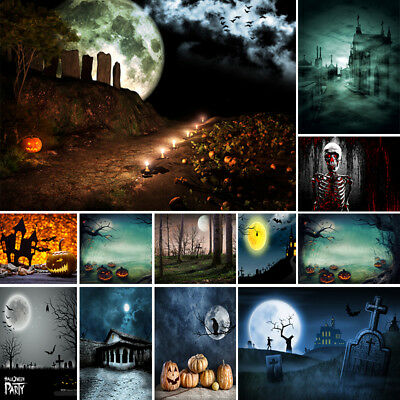 Halloween Computer Printed Photography Backdrop Halloween Theme Photo Background (Halloween Photo Background)