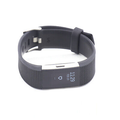 Fitbit Charge 2 Heart Rate & Fitness Wristband Black Small FB407SBKS