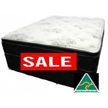 NATURAL LATEX POCKET SPRINGS MATTRESS WITH BAMBOO BRAND NEW ! West Perth Perth City Preview