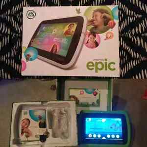 Leapfrog epic with loaded games