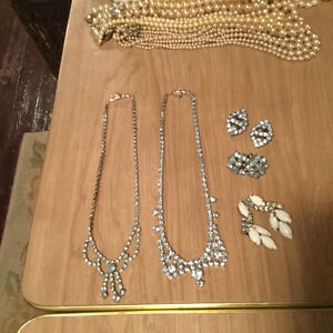 Vintage rhinestone jewellery for sale