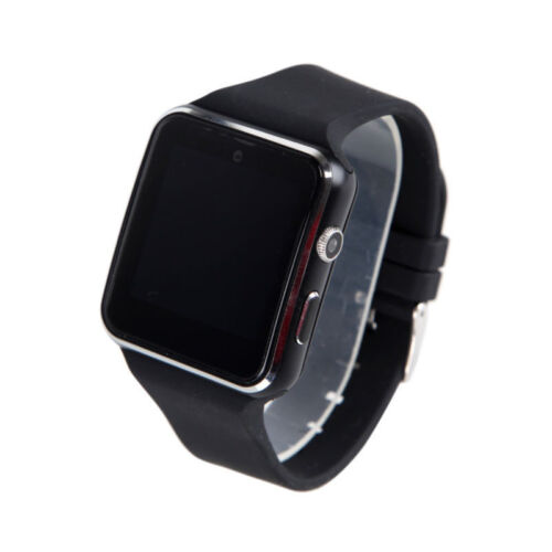 X6 Screen Bluetooth Smart Watch Phone Mate for Samsung/iPhone/Android/iOS N-b7