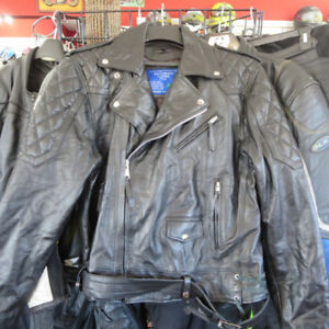 Men's Traditional Leather Motorcycle Jacket ONLY $100 Re-Gear