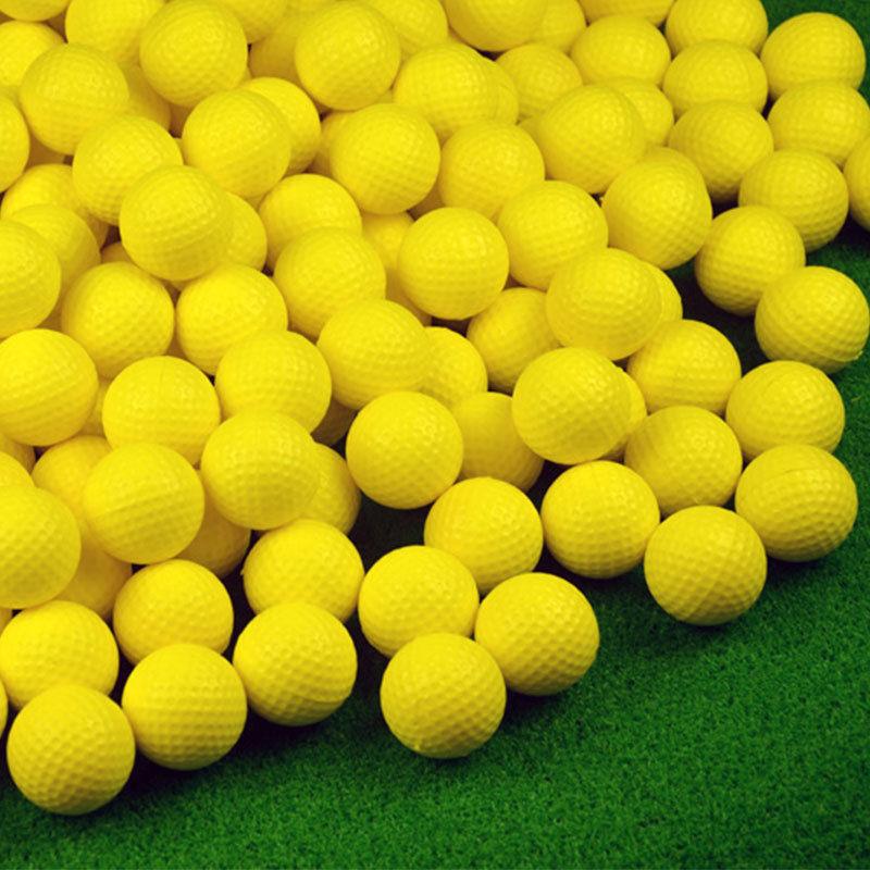 PU Foam Golf Balls Sponge Elastic Practice Training Aid Indo